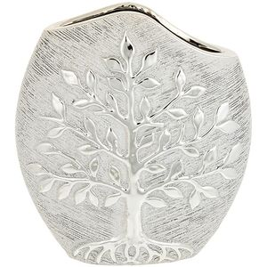 Tree of Life Modern Vase - Champagne