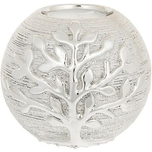 Tree of Life Ball Tea Light Holder - Champagne