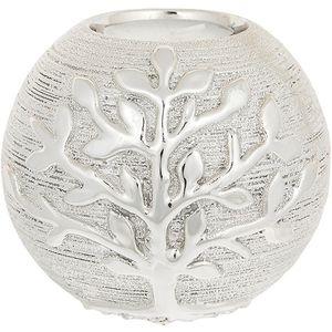 Tree of Life Ball Tea Light Holder - Champagne