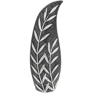 Willow Large Slender Vase - Gunmetal