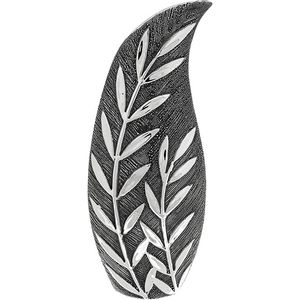 Willow Small Slender Vase - Gunmetal