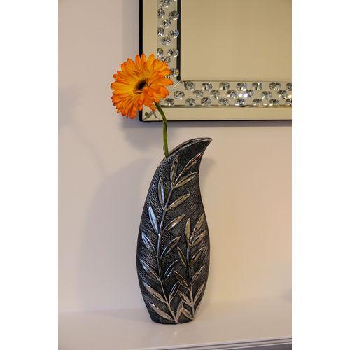 Shudehill Giftware Willow Small Slender Vase - Gunmetal