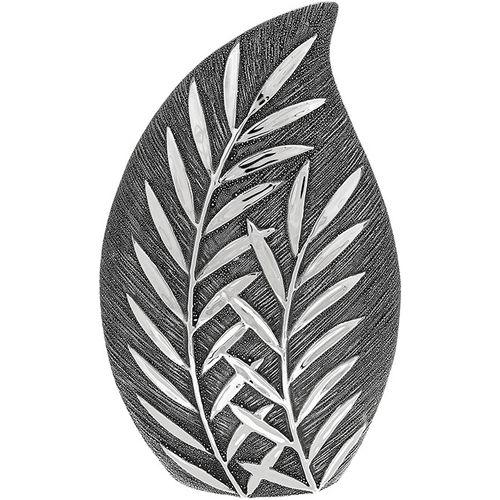 Shudehill Giftware Willow Large Wide Vase - Gunmetal