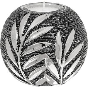 Willow Ball Tea Light Candle Holder - Gunmetal