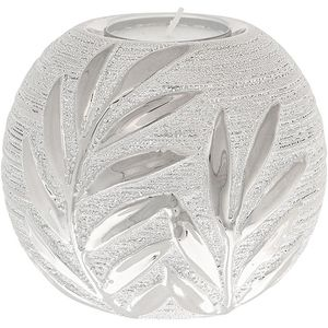 Willow Ball Tea Light Candle Holder - Champagne Silver