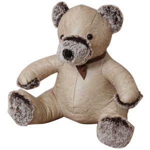 Home Living Door Stop - Beige Bear