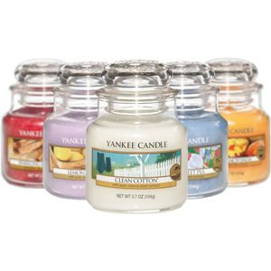 Yankee Candle Set of 6 Small Jars