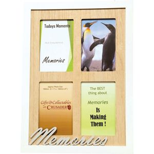 Memories Multi Photo Frame EXCLUSIVE TO US