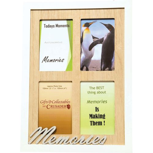 Crusader Gifts Exclusive Collage Photo Frame - Memories