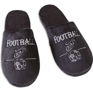Ultimate Man Gift Slippers - Football Crazy (Small)