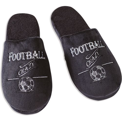 Ultimate Man Gift Slippers  - Football Crazy (Large)