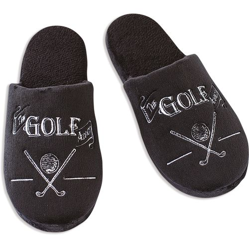 Ultimate Man Gift Slippers - The Golf Addict (Large)