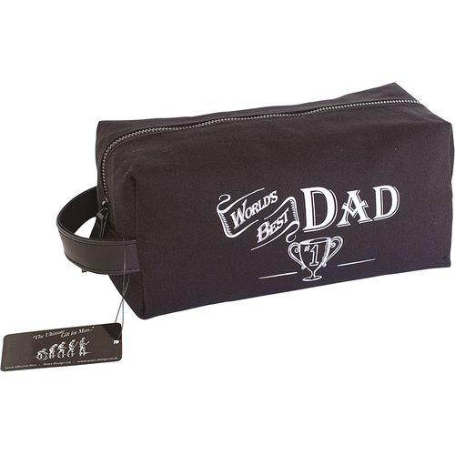 Ultimate Man Gift Wash Bag - Worlds Best Dad