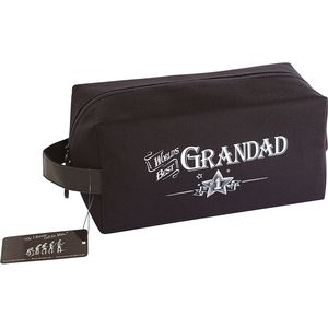 Ultimate Man Gift Wash Bag - Worlds Best Grandad