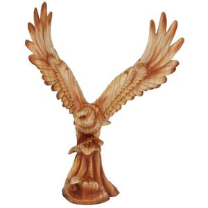 Naturecraft Wood Effect Resin Figurine - Osprey