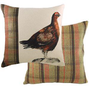 Evans Lichfield Hunter Collection Cushion: Grouse 43cm x 43cm