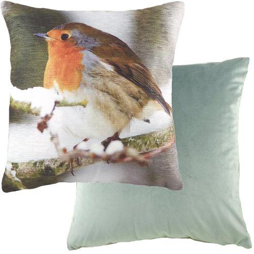 Evans Lichfield Photo Collection Cushion: Robin 43cm x 43cm