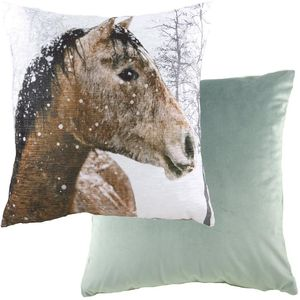"""Evans Lichfield Photo Collection Cushion Cover: Horse 17x17"""""""