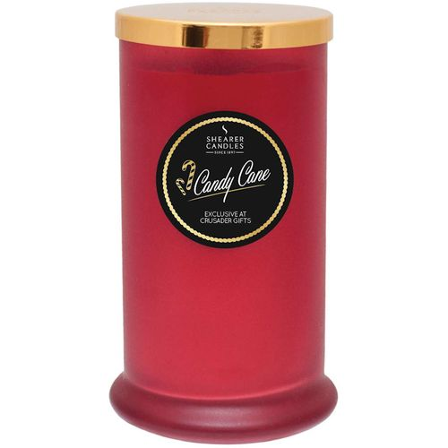 Shearer Candles Exclusive Pillar Jar Candle - Candy Cane