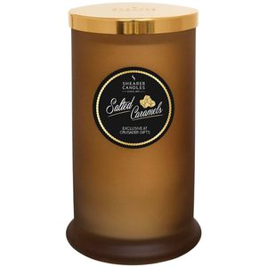 Shearer Candles Exclusive Pillar Jar Candle - Salted Caramels