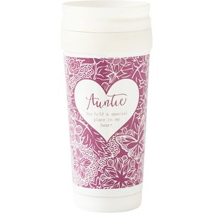 Said with Sentiment Travel Mug - Auntie