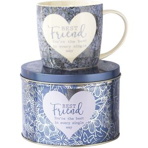 Said with Sentiment Mug in Tin - Best Friend