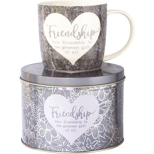 Said with Sentiment Mug in a Tin - Friendship