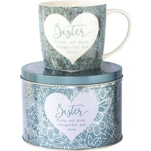 Said with Sentiment Mug in Gift Tin - Sister