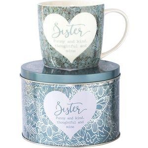 Sister Mug in a Tin