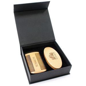 Beard Grooming Kit - Double Comb & Brush