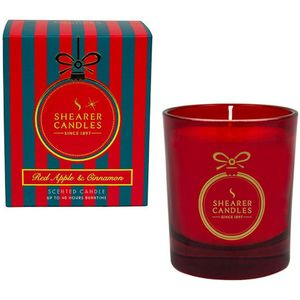 Shearer Candles Christmas Couture Gift Boxed Candle - Red Apple & Cinnamon