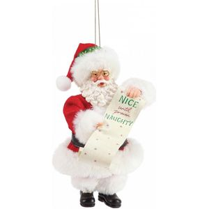 Possibe Drems Naughty And Nice Hanging Ornament