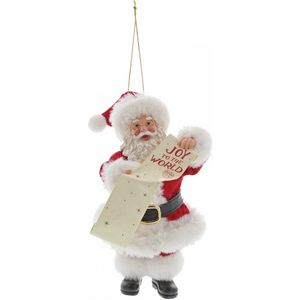 Possible Dreams Santa Hanging Ornament - Joy to the World