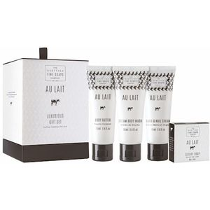 Scottish Fine Soaps Luxurious Gift Set - Au Lait