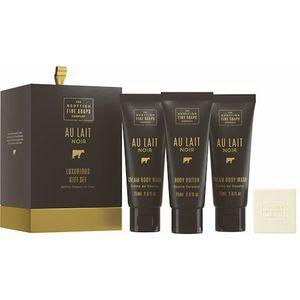 Scottish Fine Soaps Luxurious Gift Set - Au Lait Noir