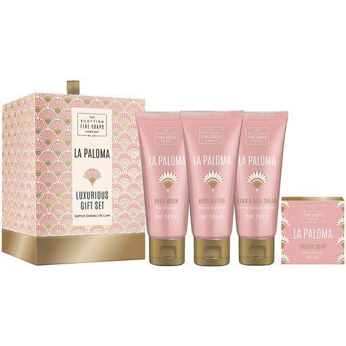Scottish Fine Soaps Luxurious Gift Set - La Paloma