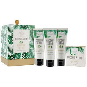 Scottish Fine Soaps Luxurious Gift Set - Coconut & Lime