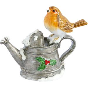 Craycombe Trinkets Robin on Watering Can Trinket Box