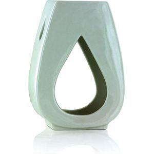 Ashleigh & Burwood Oil Burner - Droplet (White Gloss)