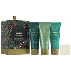 Scottish Fine Soaps Luxurious Gift Set - Winter Berries