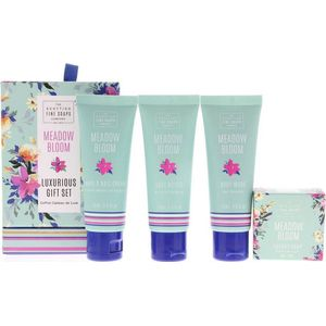 Scottish Fine Soaps Luxurious Gift Set - Meadow Bloom