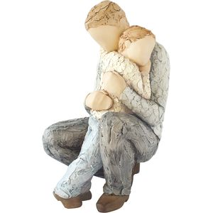 More Than Words In Safe Hands Figurine (Father & Son)