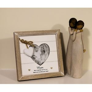 Willow Tree Figurine & Mum Photo Frame Set - Mother & Daughter (34114)