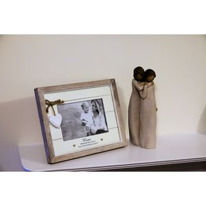 Willow Tree Figurine & Mum Photo Frame Set - Mother & Daughter (34115)