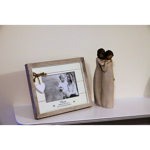 Willow Tree Mother & Daughter Figurine & Mum Photo Frame Set