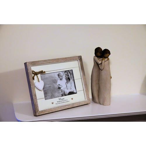 Willow Tree Mother & Daughter Figurine & Mum Photo Frame Set