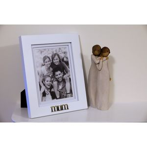 Willow Tree Figurine & Mum Photo Frame Set - Mother & Daughter (34116)