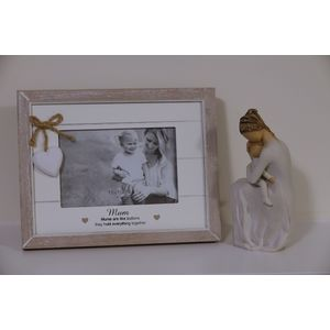 Willow Tree Figurine & Mum Photo Frame Set