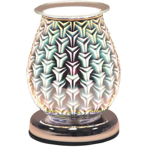 Aroma Electric Wax Melt Burner - Oval 3D Tri Star AR1456