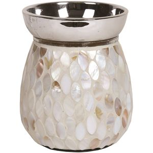 Aroma Electric Wax Melt Burner: Mother of Pearl